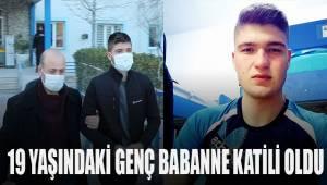 19 yaşındaki genç babaanne katili oldu