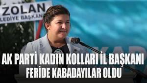 AK Parti Denizli'de kadın kolları başkanı Kabadayılar oldu