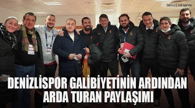 Arda Turan'dan, Terim paylaşımı!