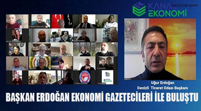 Başkan Erdoğan ekonomi gazetecileri ile buluştu