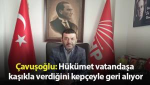 Bülent Nuri Çavuşoğlu'nun yeni yılda yapılan zamlarla ilgili basın açıklaması
