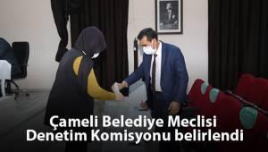 Çameli Belediye Meclisi Denetim Komisyonu belirlendi