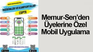 Memur-Sen'den Üyelerine Özel Mobil Uygulama