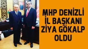 MHP Denizli İl Başkanı belli oldu.
