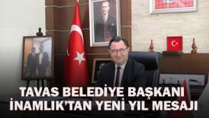 Tavas Belediye Başkanı İnamlık'tan yeni yıl mesajı