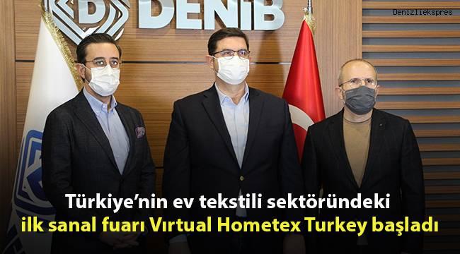 Türkiye'nin ev tekstili sektöründeki ilk sanal fuarı Vırtual Hometex Turkey başladı