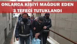 Vatandaşları açık senet ile dolandıran tefecilere operasyon: 3 tutuklu