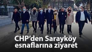 CHP'den Sarayköy esnaflarına ziyaret