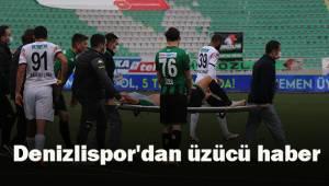 Denizlispor'dan üzücü haber
