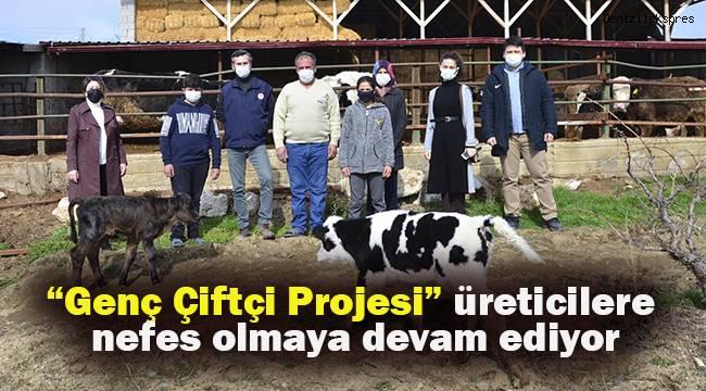Genç Çiftçi Projesi üreticilere nefes olmaya devam ediyor