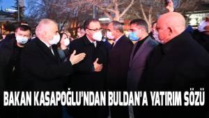 Gençlik ve Spor Bakanı Dr. Mehmet Muharrem Kasapoğlu'ndan Buldan'a müjdeler
