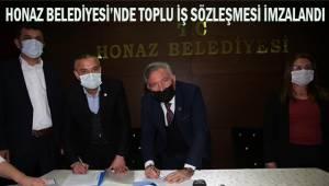 Honaz Belediyesi'nde Toplu İş Sözleşmesi İmzalandı