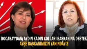 Kocabay'dan, Özdemir'e destek...