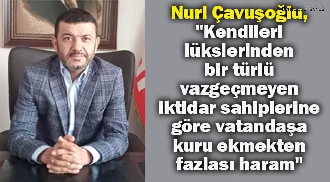 Mahir Ünal'ın çiftçinin kullandığı akıllı telefonu gündeme getirmesine CHP İl Başkanı Çavuşoğlu'ndan tepki