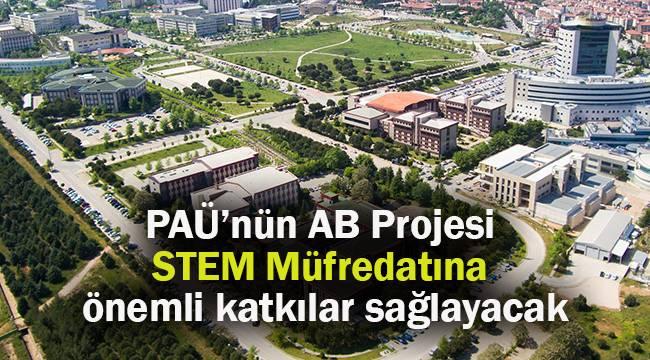 PAÜ'nün hibe desteği alan AB Projesi STEM Müfredatına önemli katkılar sağlayacak