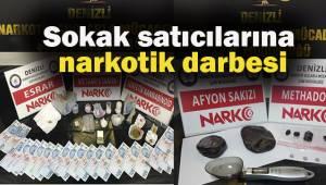 Sokak satıcılarına narkotik darbesi: 30 gözaltı