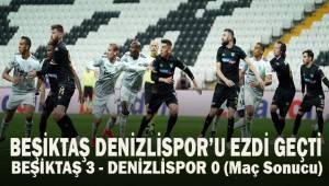 Süper Lig: Beşiktaş: 3 - Y. Denizlispor: 0 (Maç sonucu)