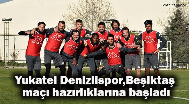 Yukatel Denizlispor, 1 günlük iznin ardından Beşiktaş maçı hazırlıklarına başladı.