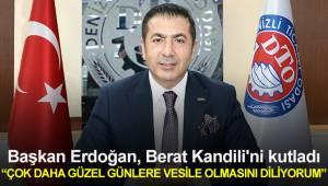 Başkan Erdoğan, Berat Kandili'ni kutladı