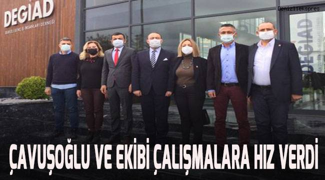 Çavuşoğlu ve ekibi çalışmalara hız verdi