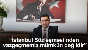 Denizli Baro Başkanı İlhan'dan İstanbul Sözleşmesi'nin kaldırılmasına tepki