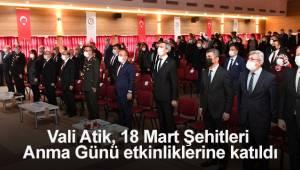 Denizli'de 18 Mart Şehitleri Anma Günü etkinlikleri