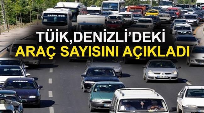 Denizli'de araç sayısı 429 bin 973'e ulaştı