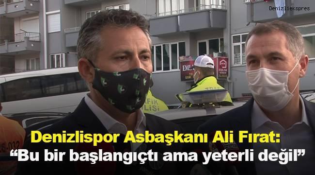 Denizlispor Asbaşkanı Ali Fırat: