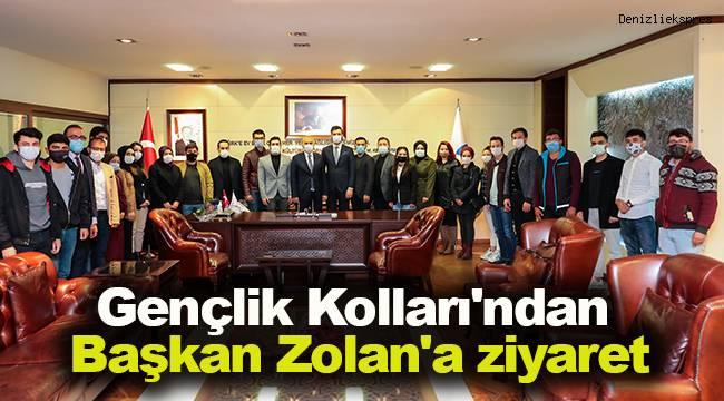 Gençlik Kolları'ndan Başkan Zolan'a ziyaret