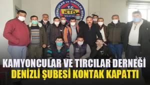 Kamyoncular ve Tırcılar Türkiye çapında olduğu gibi Denizli'de de kontak kapattı