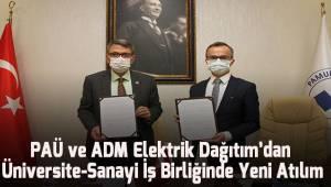 PAÜ ve ADM Elektrik Dağıtım'dan Üniversite-Sanayi İş Birliğinde Yeni Atılım