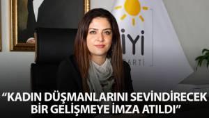Raziye Akışık'tan İstanbul Sözleşmesi açıklaması
