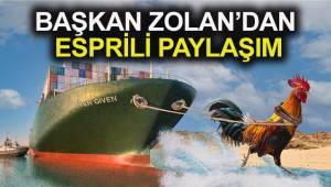 Süveyş Kanalıyla ilgili Denizli horozu paylaşımı
