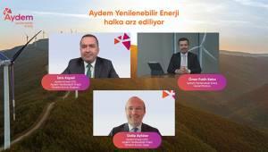 Aydem Yenilenebilir Enerji, Son 3 Yılın En BüyükHalka Arzına hazırlanıyor
