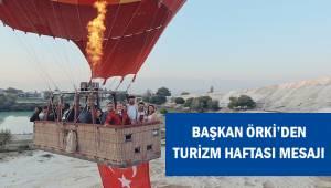"""Başkan Örki, """"Denizli turizmine çeşitlilik katacak önemli çalışmalara imza attık."""
