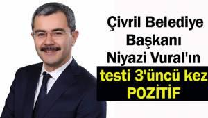 Belediye başkanının korona virüs testi 3'üncü kez pozitif çıktı