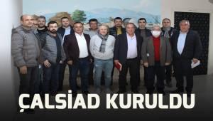"""Çallı iş insanları """"Her şey Türkiye ve Çal için"""" sloganıyla harekete geçti."""