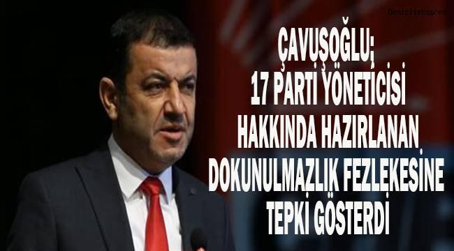 Çavuşoğlu; FETÖ'nün siyasi ayağının üzerine gitmek yerine muhalefeti susturmaya çalışıyorlar