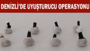 Denizli'de uyuşturucu operasyonu, 1 tutuklu