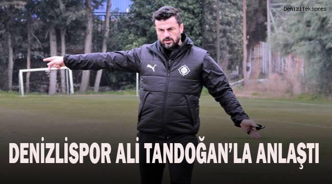 Denizlispor Ali Tandoğan ile anlaştı