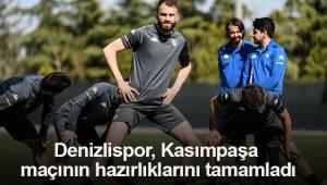 Denizlispor, Kasımpaşa maçının hazırlıklarını tamamladı