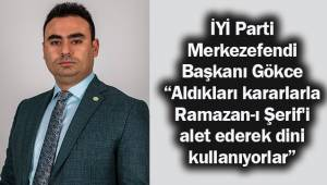 İYİ Parti Merkezefendi İlçe Başkanı Mehmet Ertuğrul Gökce 'tam kapanma' kararı ile ilgili eleştirilerde bulundu