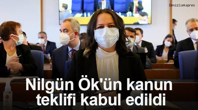 Nilgün Ök'ün kanun teklifi, Plan ve Bütçe Komisyonu'nda kabul edildi.