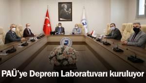 PAÜ'ye Deprem Laboratuvarı kuruluyor