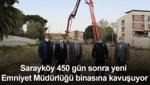 Sarayköy 450 gün sonra yeni Emniyet Müdürlüğü binasına kavuşuyor