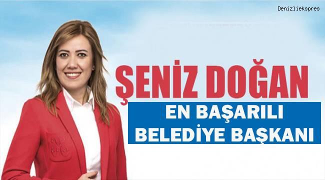 Şeniz Doğan en başarılı Belediye Başkanı
