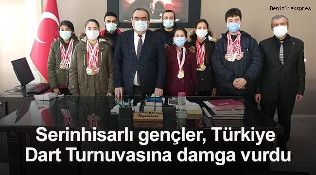 Serinhisarlı gençler, Türkiye Dart Turnuvasına damga vurdu