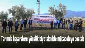 Tarımda haşerelere yönelik biyoteknikle mücadeleye destek
