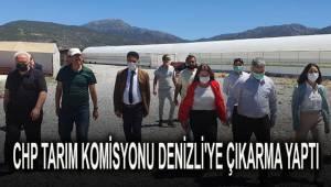 Cumhuriyet Halk Partisi Tarım Komisyonu Denizli'ye çıkarma yaptılar