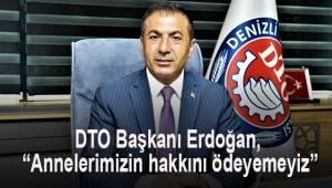 DTO Başkanı Erdoğan,